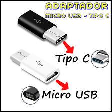 Adaptador USB Tipo C a Micro USB Type Cable SAMSUNG HUAWEI XIAOMI LG Sony