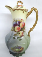 Royal Munich Fruit Bowl Pattern Tea Chocolate Pot Pitcher 169B