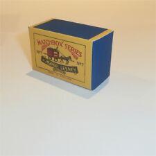 Matchbox Lesney  7 a Horse Drawn Milk Float empty Repro A style Box