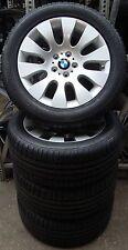 4 BMW Kompletträder Styling 91 245/50 R18 100V M+S BMW 7er E65 Bridgestone NEU