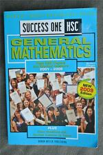 HSC General Mathematics Success One 2001-2008 Past Papers 2009 EDITION. GR8 COND