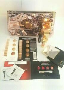 Yves Saint Lauren Designer Make Up&Beauty&Skincare Samples&Travel Bag