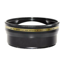 Xit 58mm 2.2X Telephoto Lens (XT2X58) Black
