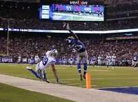 "Odell Beckham Jr. NY Giants 8.5 x 11"" Poster Print Photo Great Quality CATCH #3"