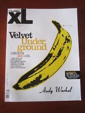 XL REPUBBLICA # 52 2010 VELVET UNDERGROUND ANDY WARHOL MICK JAGGER GUCCINI