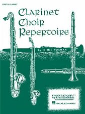 Clarinet Choir Repertoire 2nd Clarinet Part Ensemble Collection New 004473980