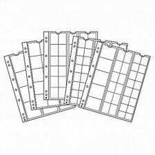 Feuilles Numismatiques NUMIS - Lot de 5 pochettes - Choix multiple - LEUCHTTURM