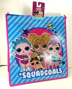 LOL SURPRISE DOLLS Reusable Shopping TOTE Christmas Candy Toy GIFT BAG L.O.L.