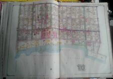 Orig 1917 Brooklyn Ny Bath Beach Bensonhurst Park St. Dunbar Rc Church Atlas Map
