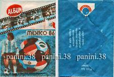 """RARE !! Pochette """"WC MEXICO 86"""" bustina, packet, tüte PANINI NAVARRETE 1986"""