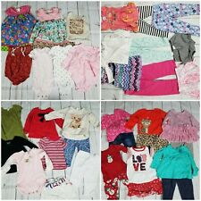 Toddler Girls 24M 37-Piece Clothing Lot [Gymboree Carters Cat & Jack Outfits]