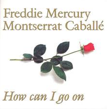 """Montserrat Caballé Freddie Mercury How Can I Go On green vinyl 7"""" new Lurex"""