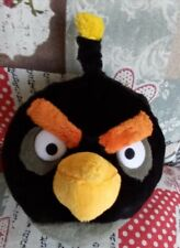 Plush Toy Angry Birds. Original product of Rovio. Bomb Black Bird.