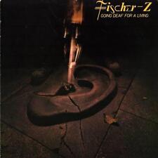 FISCHER-Z Going Deaf For A Living 1980 or. HOLLAND lp + innersleeve EX vinyl!