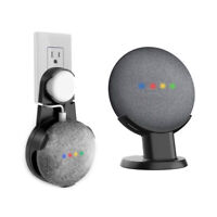 Desk Pedestal Stand Outlet Wall Mount for Google Home Mini Portable Speaker