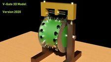 ✅ V-Gate - Magnetmotor Freie Energie 3D Modell STL STEP DWG   3D Druck 2020