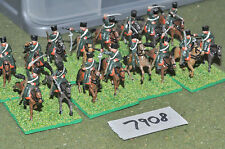 20mm napoleonic french hussars 16 (7908) painted plastic