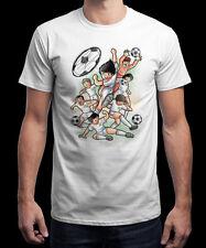 CAPITAINE TSUBASA FC Nankatsu All Stars tshirt shirt T-Shirt NEUF L football SC NEW