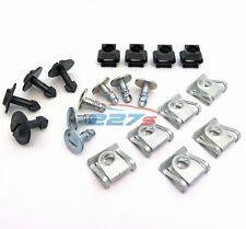 AUDI Motore Undertray & CARROZZERIA SCUDO Clip & elementi di fissaggio KIT A3, A4, A6, A8 TT