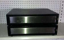 Lot (2) Black POS Retail Cash Drawer Register  MMF ECD 200, 24VDC RJ-11