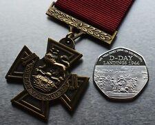 British Victoria Cross Service Medal & Silver WW2 D-Day Landings Commemorative
