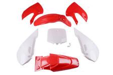 Verkleidungssatz Verkleidung Set Rot f. Dirt Bike,Pit Bike CENKOO-125 Kawa
