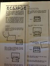 Eclipse- Vintage Magic Trick from Tanyo 1982 sorry no box