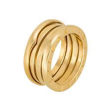 Bvlgari B.zero1 18kt Rose Gold 3-Band Ring Size 6 AN852405