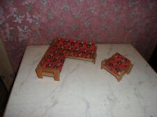 Alte Sitzgruppe-70er Jahre-Lundby-Lisa-Puppenhaus-Puppenstube-1:18