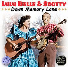 Lulu Belle, Lulu Belle & Scotty - Down Memory Lane [New CD]