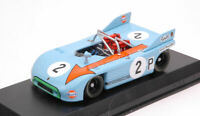 Model Car Scale 1:43 Best Model Porsche 908-03 Dnf diecast Nurburgring New
