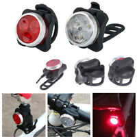 USB Charging Mountain Bike Bicycle Outdoor Cycling LED Headlight+Taillight Set