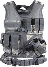 Cross Draw Tactical Vest Molle Acu Digital Camouflage Cross Draw Vest 6598