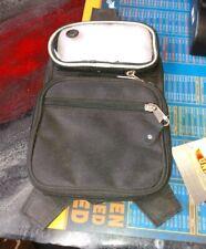 Black Unik Tank Bag 11x7 phone holder with 2 other pockets