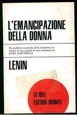 LENIN L'EMANCIPAZIONE DELLA DONNA EDITORI RIUNITI 1971 LE IDEE 35