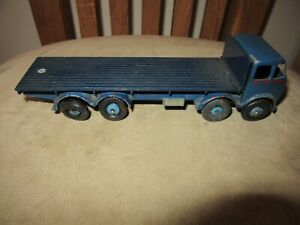 VINTAGE MECCANO DINKY SUPERTOYS FODEN FLAT BED TRUCK