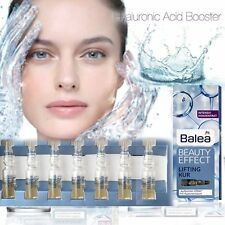 Balea Beauty Effect LIFTING TREATMENT Hyaluronic Acid Ampoules 7x1ml GERMANY