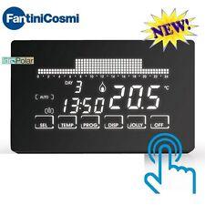 CRONOTERMOSTATO SETTIMANALE ultrapiatto touch screen FANTINI COSMI CH193 NUOVO