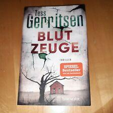 Blutzeuge von Tess Gerritsen (Taschenbuch)