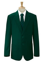 91.4cm-132cm Hombre Formal chaqueta casual negro REAL VERDE BOTELLA GRANATE