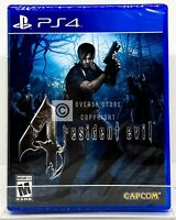 Resident Evil 4 - PS4 - Brand New | Factory Sealed