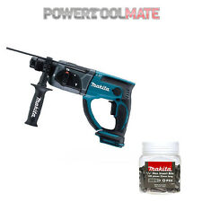 Makita DHR202Z 18V LXT SDS+ Rotary Hammer Drill (Body Only) c/w P-49971 Bits