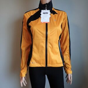 NWT - Pearl Izumi Elite Women's Cycling Windbreaker Jacket Orange & Black - XS