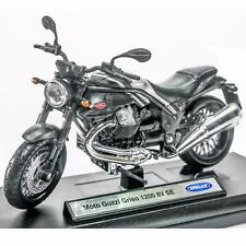 Welly 1:18 Die-cast Moto Guzzi Griso 1200 8V SE Motorcycle Black Color Model New