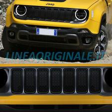 Griglia Anteriore Grigio Satinato e Anelli Nero Opaco Originale Jeep Renegade
