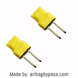 Airbag bypass resistor 3.3ohm 2pcs for diagnostics