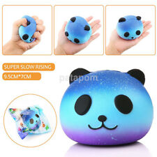 1Pc Large Blue Panda Soft Elastic Squishy Slow Rising Squeeze Children Kids Toys