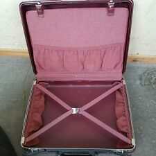RED SAMSONITE SMALL HARD TRAVEL CASE / SUITCASE 50x40
