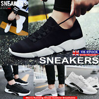Mens Running Sports Shoes Trainers Gym Casual Walk Athletic Gym Fitness Snrakers