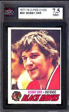 1977 78 OPC O PEE CHEE #251 BOBBY ORR KSA 7.5 NM + BRUINS CHICAGO BLACK HAWKS